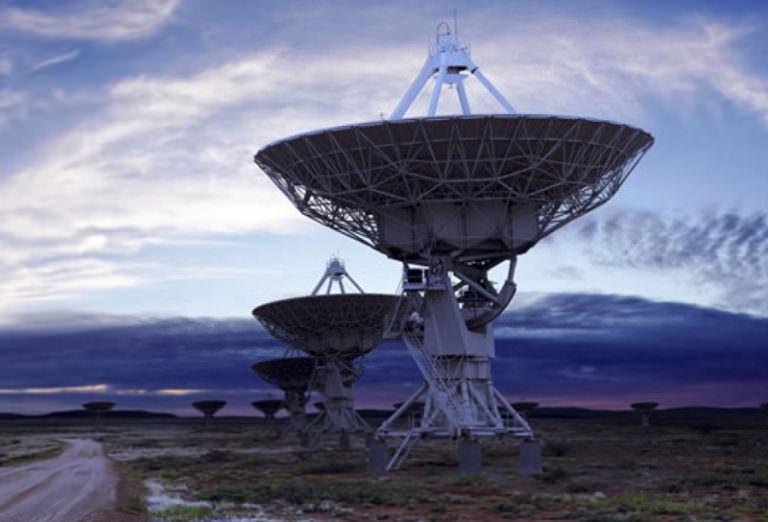 Smiths aerospace satellite dishes