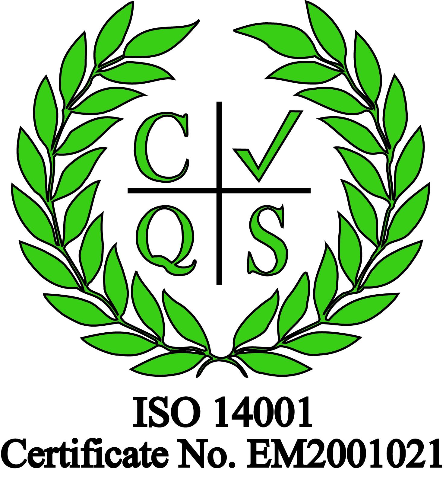 Acota ISO 14001 logo