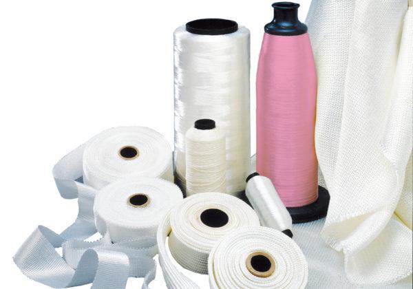 Nextel fabrics and yarns
